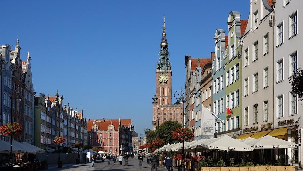 Gdańsk miasto turystów