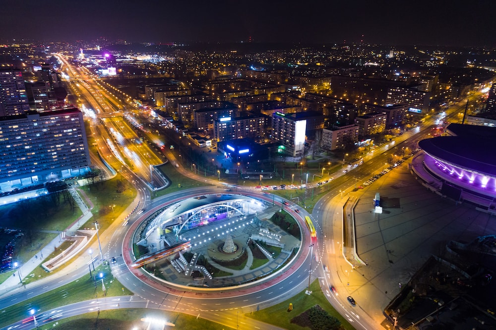 Katowice noc