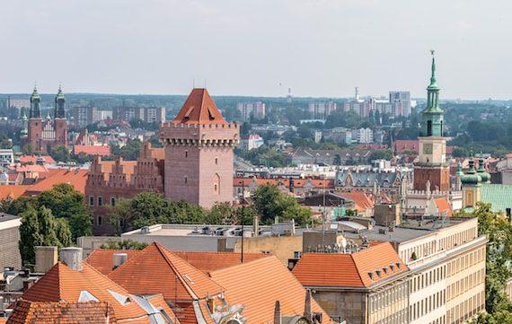 Poznań panorama